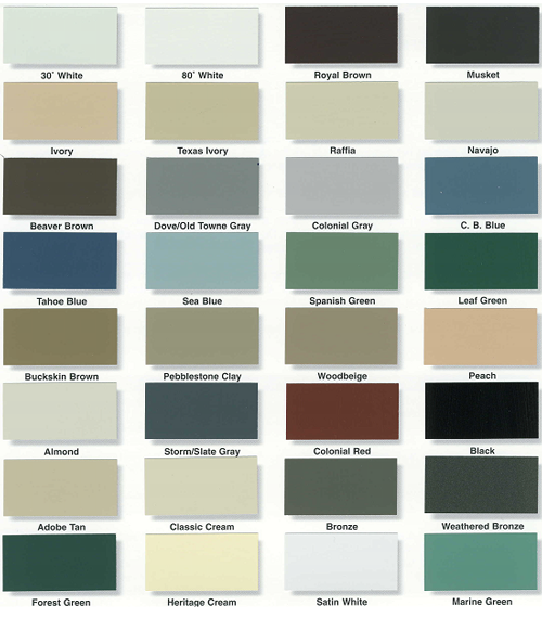 alcoa vinyl siding color chart siding samples alcoa